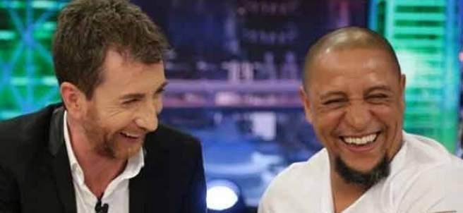 Roberto Carlos y Pablo Motos