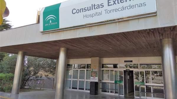 Consultas externas del Hospital Torrecárdenas