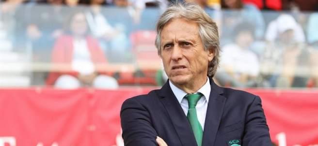 Jorge Jesus, entrenador del Sporting de Portugal.