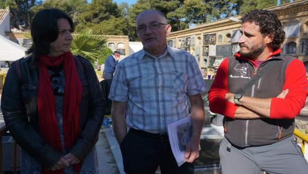 Exhumación Fosa 128 del cementerio de Paterna