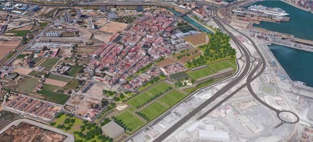 Las entidades vecinales de Nazaret apoyan la Ciudad Deportiva del Levante