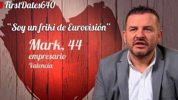 Mark en 'First Dates'