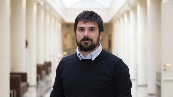 Ramón Espinar, secretario general de Podemos en la Comunidad de Madrid.