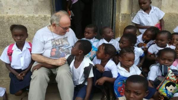 Proyecto en el Congo del misionero turolense Javier Negro