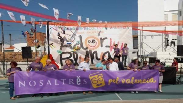 Escola Valenciana llança el primer concurs de disseny de les Trobades