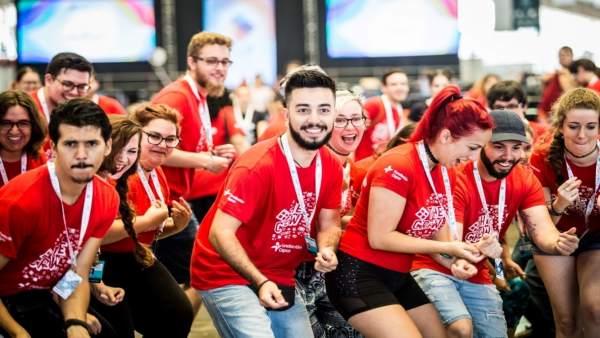 Voluntarios de TLP Tenerife 2018