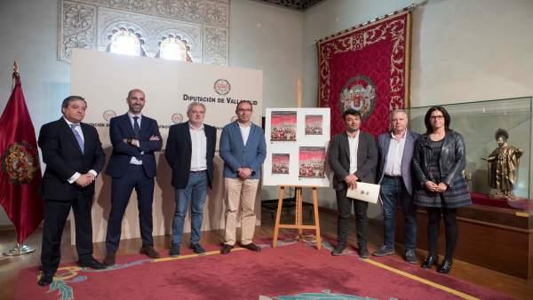 Presentación del encuentro de cofradías en Tordesillas.