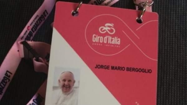 El Papa Francisco, invitado al Giro.