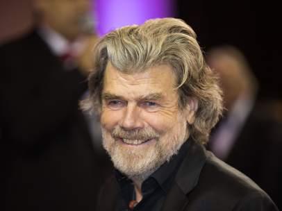 Messner, durante un acto reciente