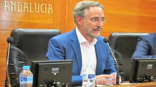 El consejero andaluz de Fomento y Vivienda, Felipe López.