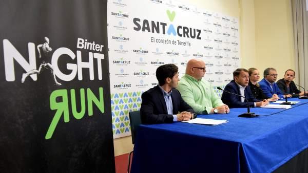 Presentación de la Binter Night Run