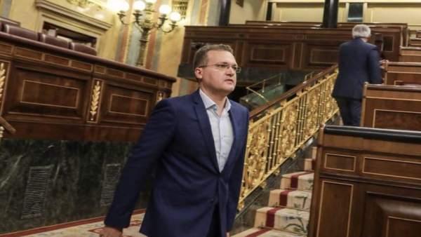 El diputado nacional de Cs por Almería, Diego Clemente