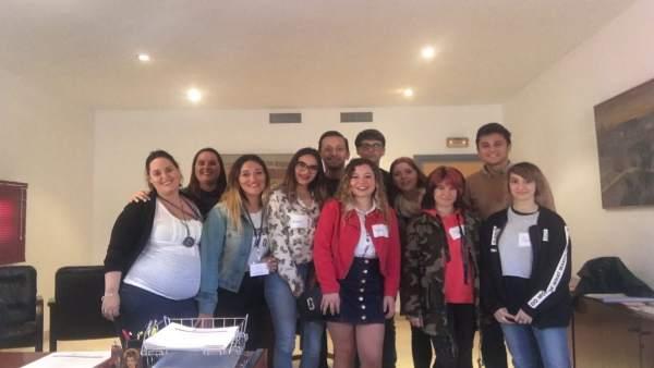 Reunión de un colectivo juvenil de Alcalá de Guadaíra para presentar propuestas
