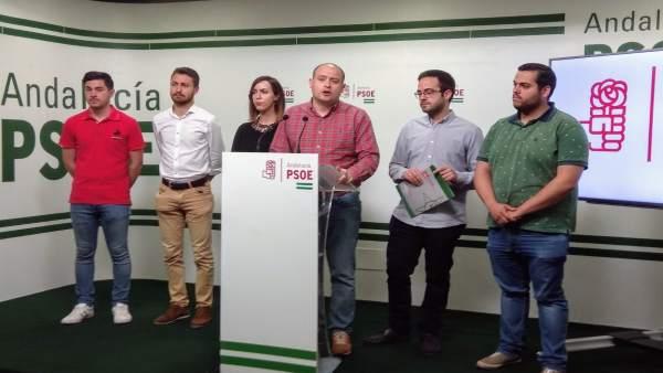 El secretario del PSOE de Organización en Almería, Antonio Martínez