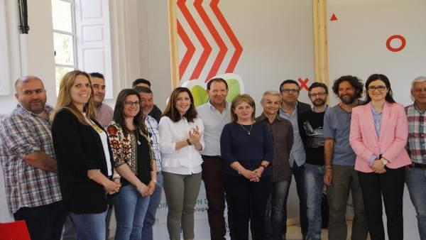 Acciones conra el cambio climático promovidas por la Diputación Bravo alcaldes