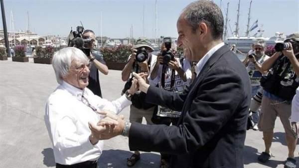 """Camps va voler reunir-se amb Ecclestone per a tractar d'un nou projecte que havia """"imaginat"""": la 'Valencia Cup'"""