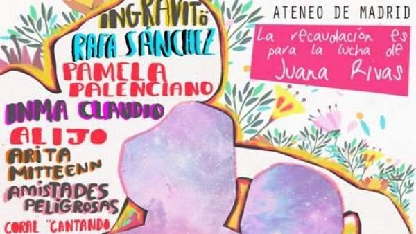 Concierto solidario para Juana Rivas