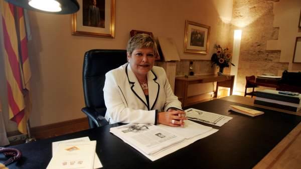 Milagrosa Martínez en imagen de archivo
