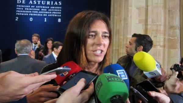 Edurne Pasabán en Oviedo