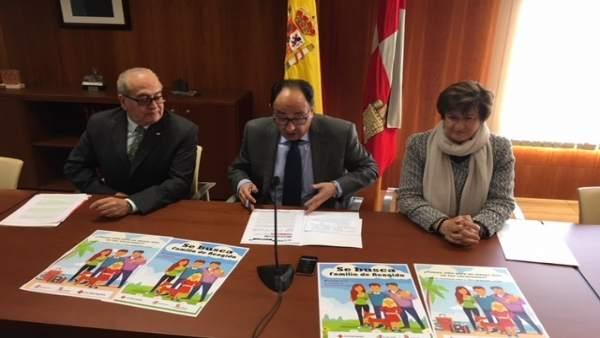 Modesto Fernández, Manuel López y MªPaz Gil,