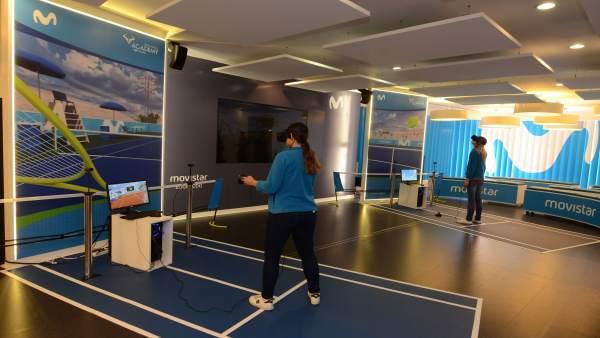 El juego de realidad virtual Rafa Nadal llega a Sevilla de la mano de Movistar