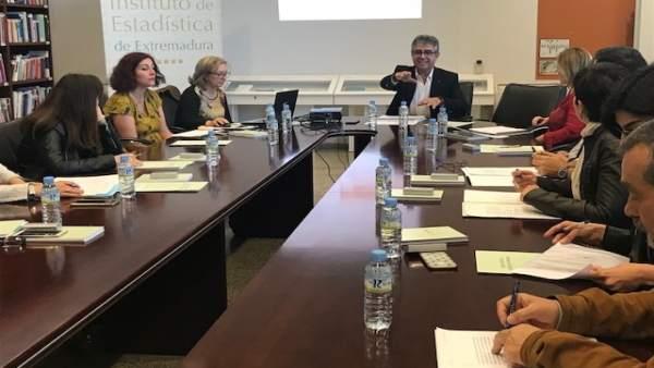 Reunión Instituto de Estadística