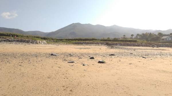 Playa, Limpieza de playas, arena, verano, turismo, Asturias, Playa de La Espasa