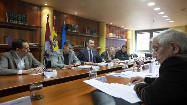 Reunión del Grupo de Trabajo sobre Emigración.