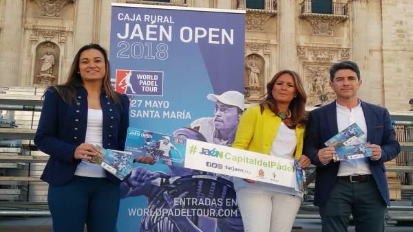 Presentación de las actividades complementarias al World Padel Tour.