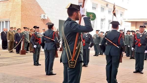 Acto Guardia Civil en Málaga