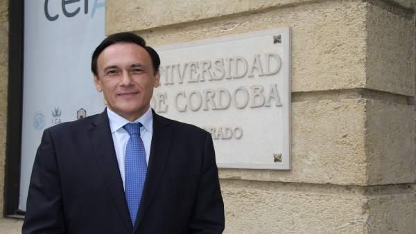 El rector de la UCO, José Carlos Gómez Villamandos
