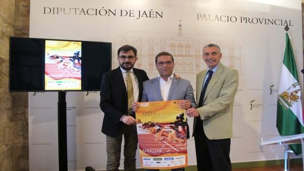 Presentación del Meeting Internacional de Atletismo