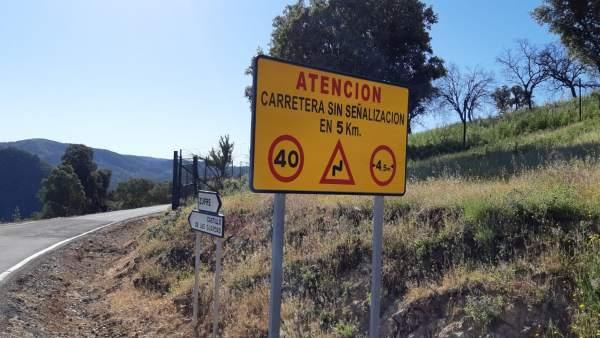 Carretera de Zufre.