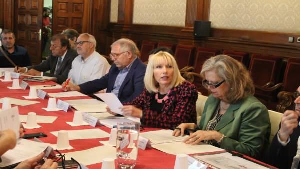 Reunión de la comisión de la campaña de la fruta