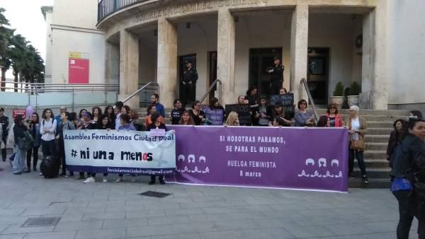 Concentración en Ciudad Real