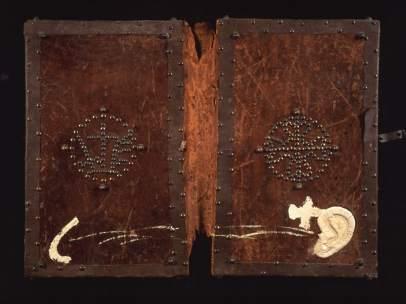 Antoni Tàpies. Cubiertas de libro, 1987