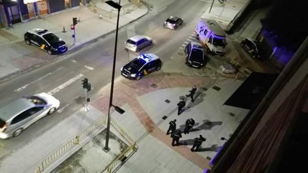 Herido un hombre por disparos en Avilés