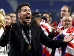 """Simeone: """"Ganar la Liga compitiendo con el Madrid y el Barça es casi imposible"""""""