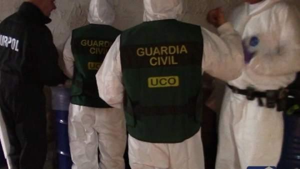 Desmantelado en Alicante el mayor laboratorio de drogas sintéticas