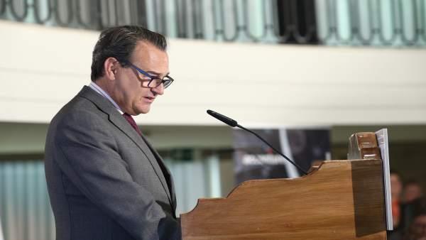 El secretario de Estado de Defensa, Agustín Conde
