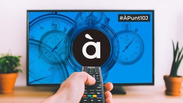 La televisió d'À Punt iniciarà les emissions el pròxim 10 de juny