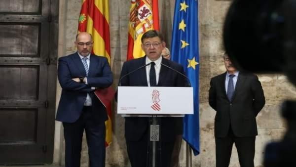 """Puig diu que l'anunci d'inversió del Govern en el transport metropolità de València és """"una fake news"""""""