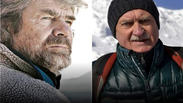 Reinhold Messner y Krzysztof Wielicki