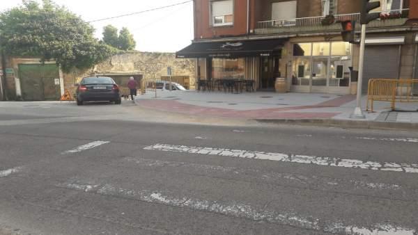 Bar Carpe Diem de Avilés donde sucedió el dispaaro a un hombre