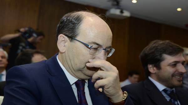 José Castro Carmona, presidente del Sevilla FC