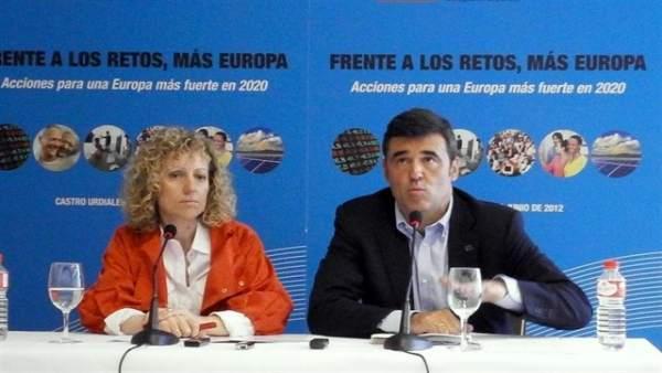 Díaz Tezanos y Ricardo Cortés (Archivo)
