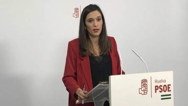 La socialista María Márquez