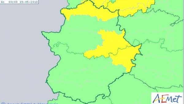 Mapa alerta 17 de mayo