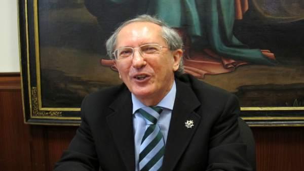 Feliciano Trebolle, presidente de la Audiencia de Valladolid.