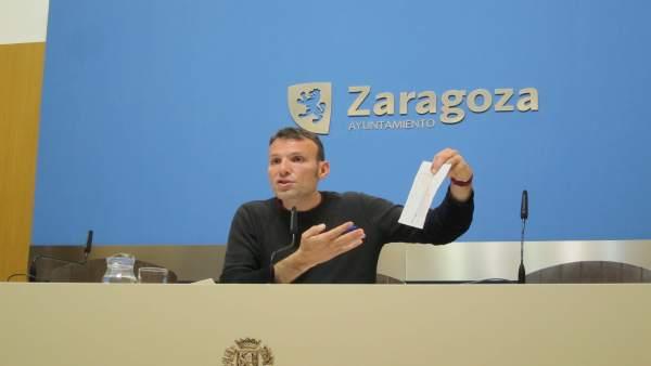Pablo Muñoz ha mostrado los planos de los antiguos juzgados de la ciudad
